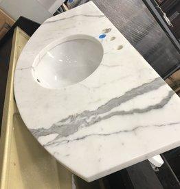 Calcutta Gold Kohler Marble Sink Top