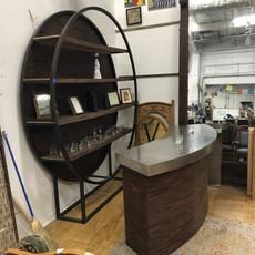 Custom Designed Oak Bar #BLU