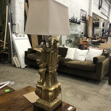 Brass Dragon Lamp #BLU