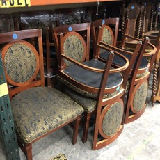 Diner Chairs With Reptile Print#GRE