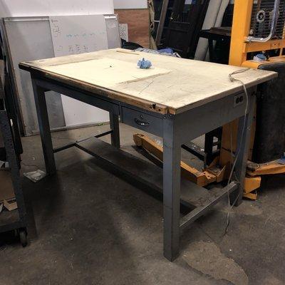 Industrial Drafting Table #YEL