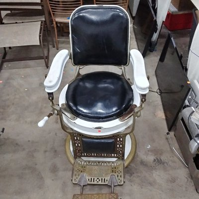 Vintage Hydraulic Barber Chair