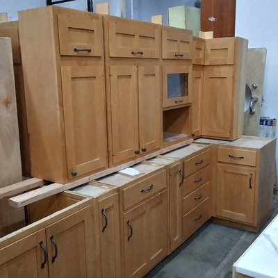 Custom Maple Cabinetry Set