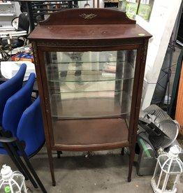 Vintage Mirrored Back Display Hutch