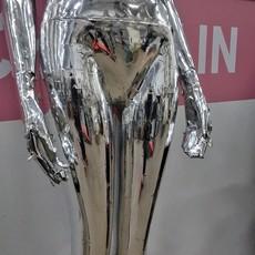 Faux Metallic Mannequins