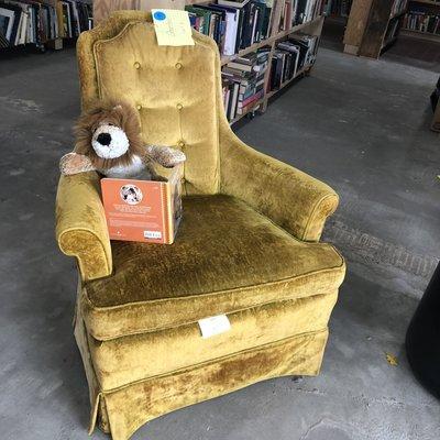 Golden Girl's Reading Chair