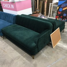 Forest  Green Designer Sofa