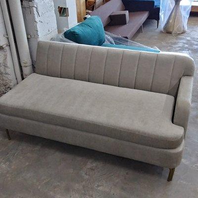 Grey Designer Tufted Back Sofa
