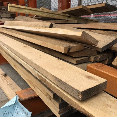 Reclaimed Red Oak 1x6 Boards