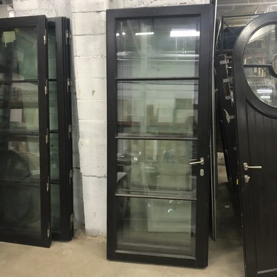 Custom Hurricane Glass Doors w/ Handles