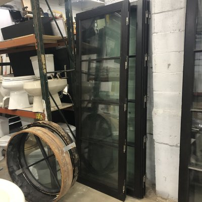 Custom Hurricane Glass Doors