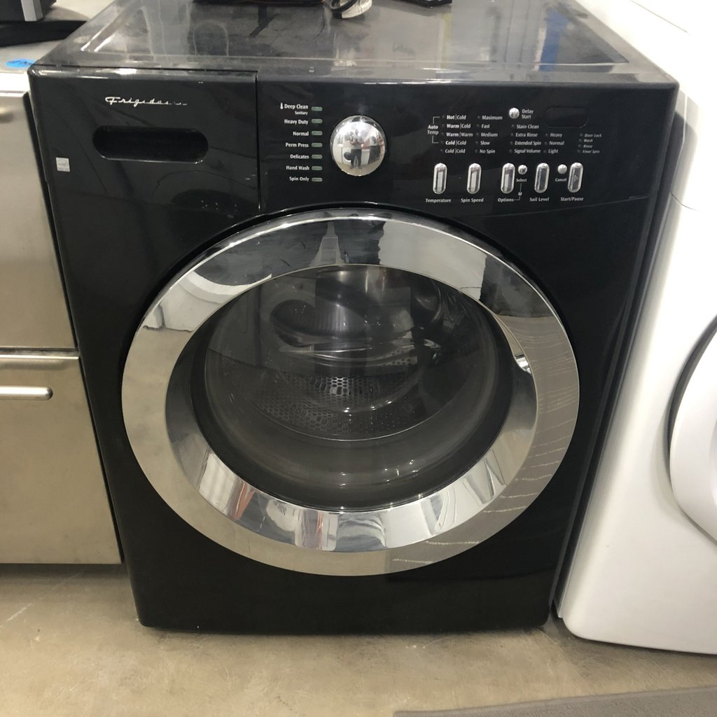 Black Frigidaire Washer