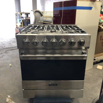 Viking Stainless Steel Range