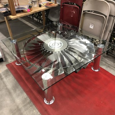 Designer Jet Engine Coffee Table
