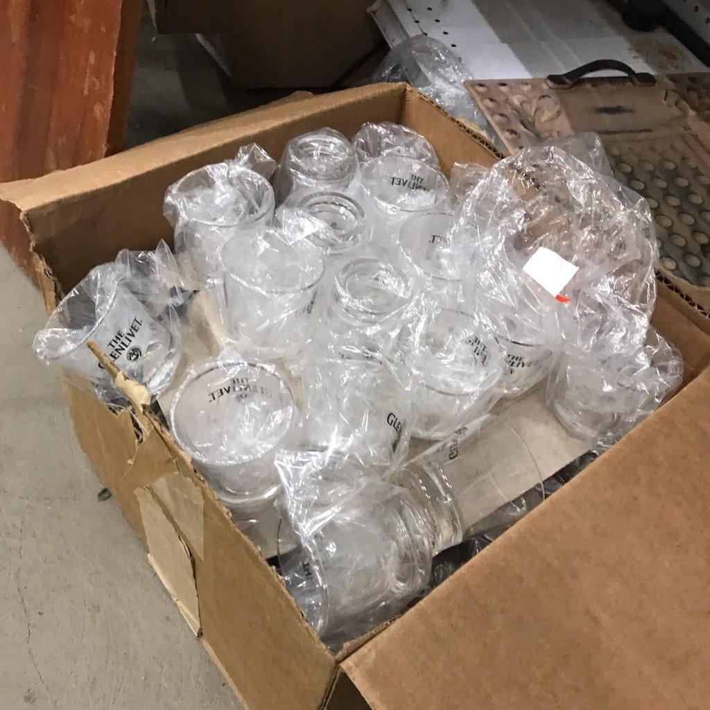 Plastic Glenlivet Glasses