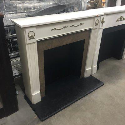 Creme Fire Place Mantels