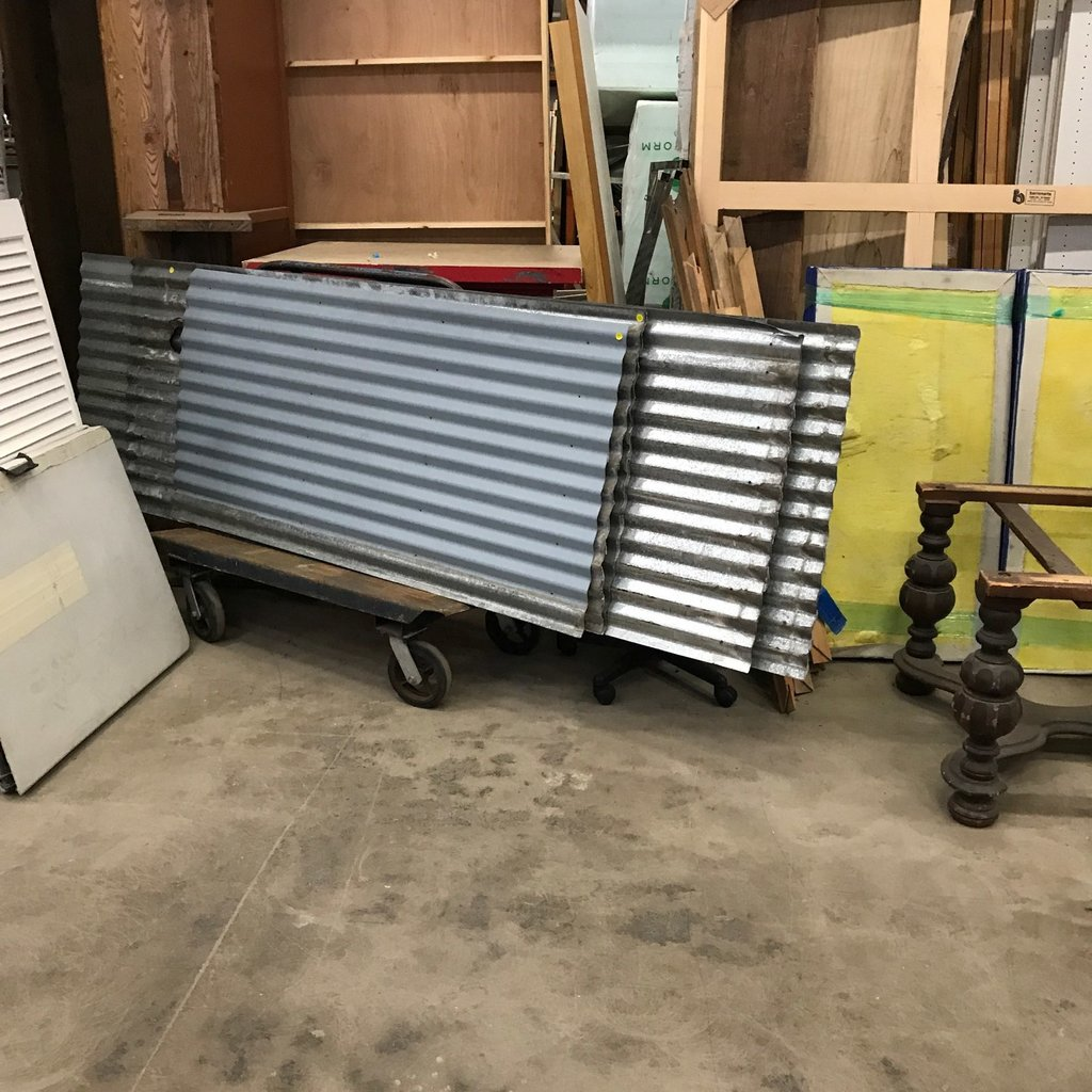 Corrugated Steel #ora