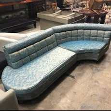 Vintage Blue 2 Piece Sofa