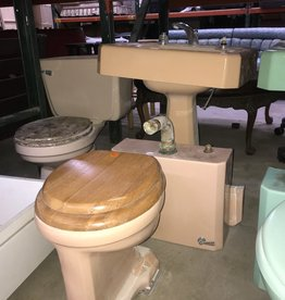 Vintage Peach Bathroom Set #ORA