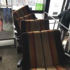 Vintage Greyhound Bus Seats #ORA