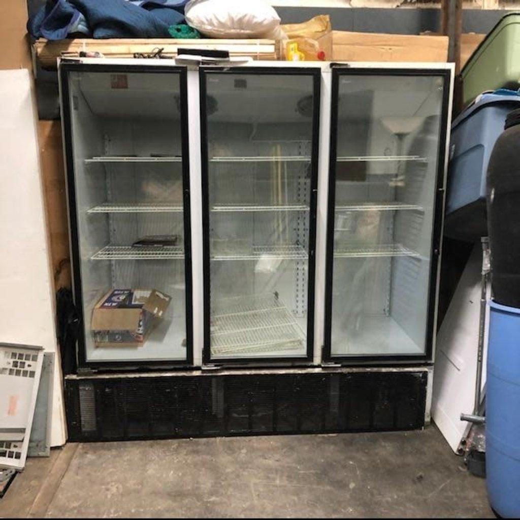 Standex Triple Door Freezer