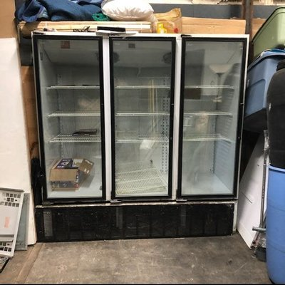 Standex Triple Door Freezer