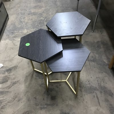 Semi-Nesting Side Tables #GRE