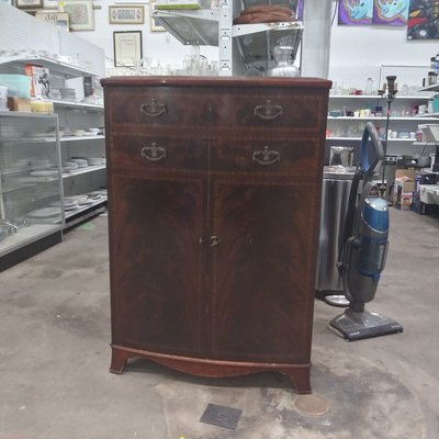 Cherry Vintage Entertainment Unit