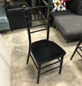 Black Bamboo Inspired Chair