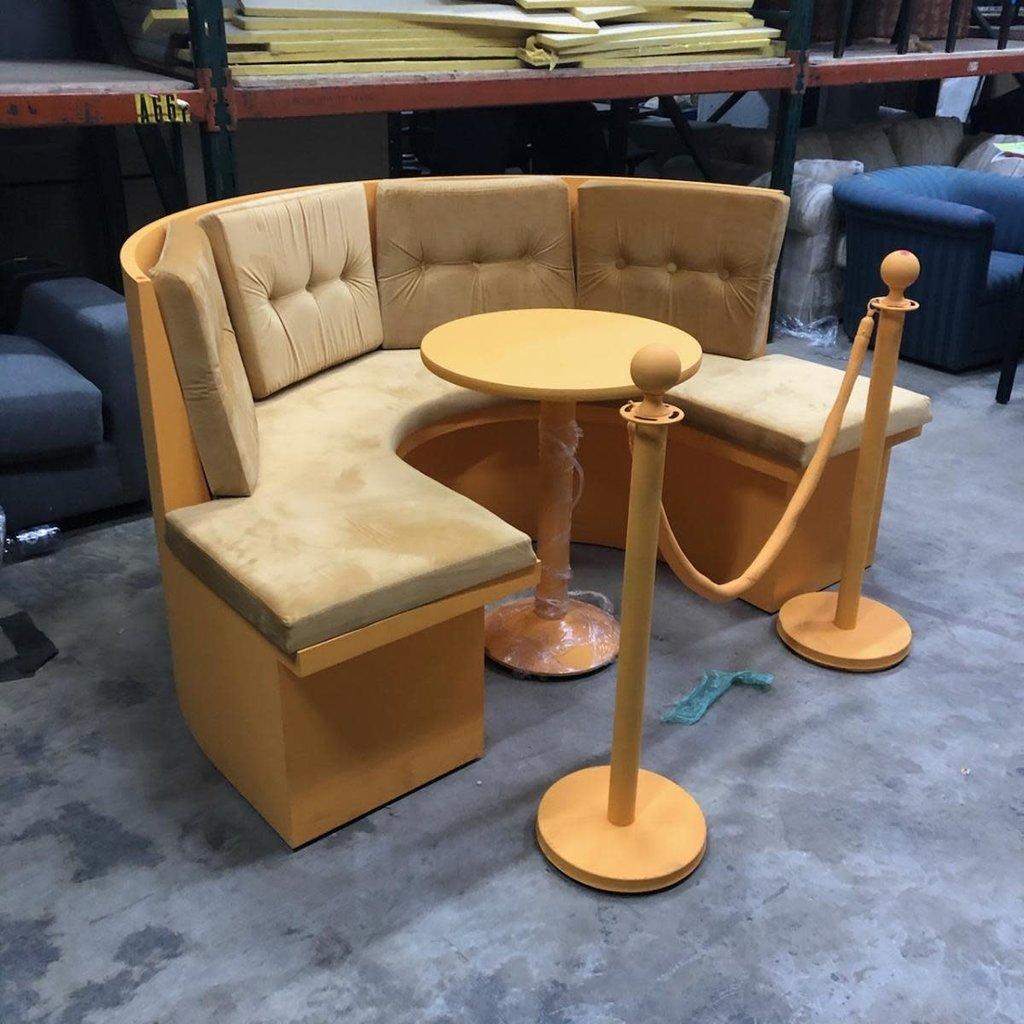 Orange VIP Booth