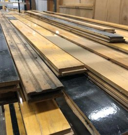 Salvaged Maple Gym Flooring