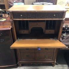 Antique Oak Secretary Desk/Dresser