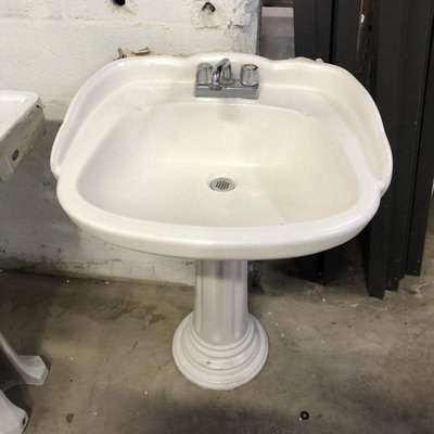 Shell Pedestal Sink