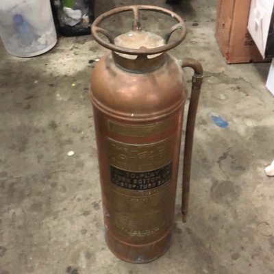 Antique ABC Fire Extinguisher