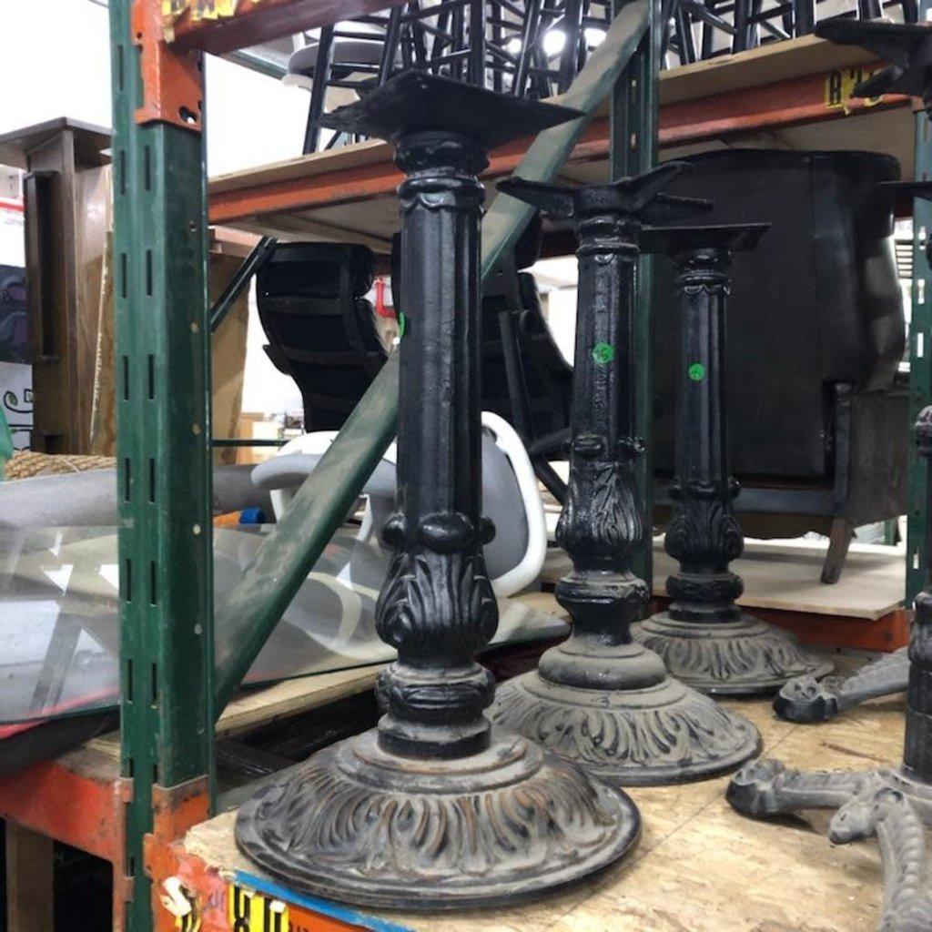 Decorative Round Iron Table Base
