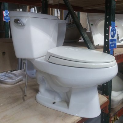 Toto 2-Piece White Toilet