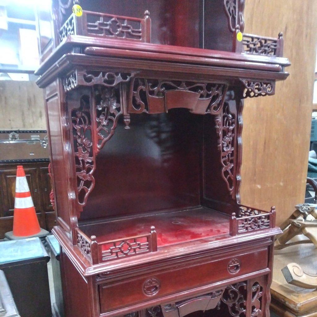 Vintage Rosewood Altar