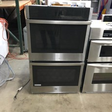 """GE 30"""" Smart Built-In Self-Clean Convection Double Wall Oven"""