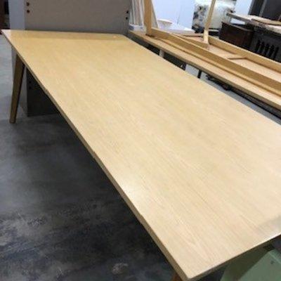 Large Tiger Oak Table