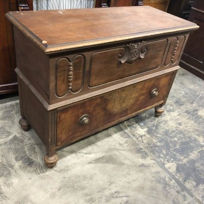 Antique Cavalier Cedar Chest