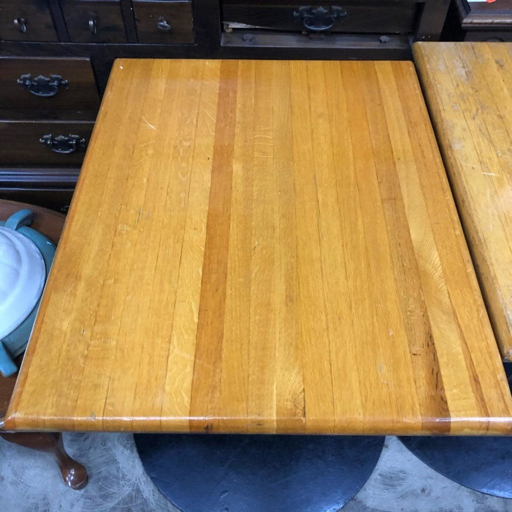 Solid Wood Top Cafe Tables