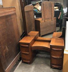 Antique Oak Vanity
