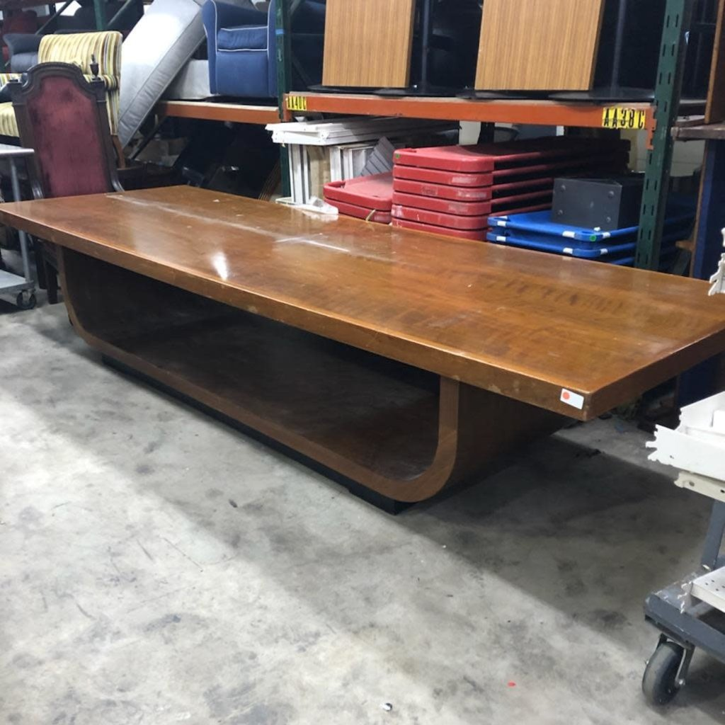 Art Deco Oak Conference Table