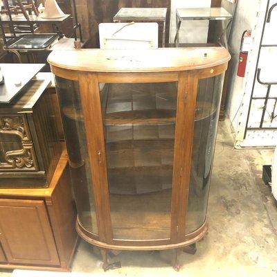 Antique Glassfront Hutch