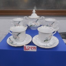 Porcelain Walbrzych Tea Set