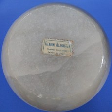 Vintage Alabaster Tinket Box