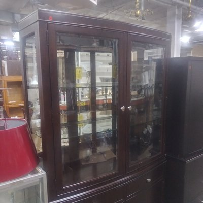 Mahogany Display Unit