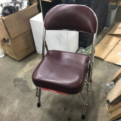 Burgundy Auditorium Foldable Chairs