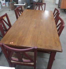 Lightly Used Pier 1 Imports Dinning Set