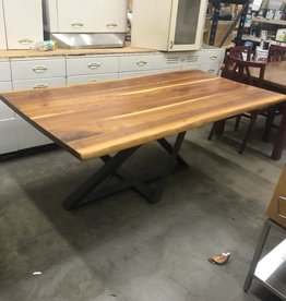 Walnut Live Edge Dining Table
